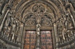 HDR disparado de uma catedral velha Imagens de Stock Royalty Free