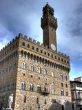 Hdr do retrato de Palazzo Vecchio Imagens de Stock