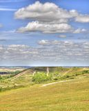 HDR of Dunstable Downs Stock Photo