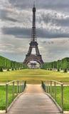 HDR Eiffel & ponte Fotografia de Stock