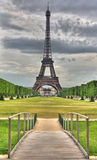 HDR Eiffel & Bridge Stock Photography