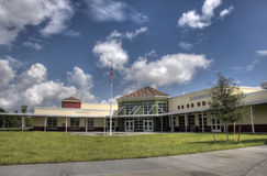 HDR of Elementary School Stock Image