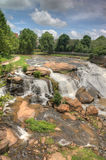 HDR Falls Park on The Reedy River Stock Photo