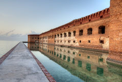 HDR of Fort Jefferson Royalty Free Stock Photos