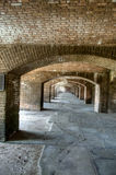 HDR of Fort Jefferson Stock Photography