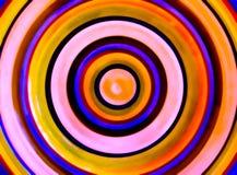 HDR-Fotobeeld van Cirkels van kleur Royalty-vrije Stock Fotografie