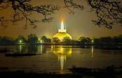 HDR fotografi av fördärvar av Anuradhapura, Sri Lanka Arkivfoto