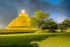 HDR fotografia ruiny Anuradhapura, Sri Lanka Zdjęcie Royalty Free
