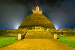 HDR fotografia ruiny Anuradhapura, Sri Lanka Fotografia Royalty Free