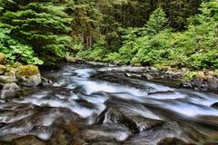 3 hdr górskiej zdjęć panoramy rzeka pionowe Zdjęcie Royalty Free