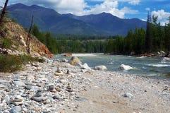 3 hdr górskiej zdjęć panoramy rzeka pionowe Obraz Stock