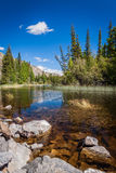 3 hdr górskiej zdjęć panoramy rzeka pionowe Obrazy Stock