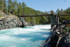 3 hdr górskiej zdjęć panoramy rzeka pionowe Obrazy Royalty Free
