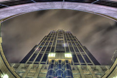 HDR of high building Stock Photos