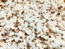 Hot popcorn with salt royalty free stock image