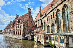 HDR image of Bruges, Belgium Royalty Free Stock Image