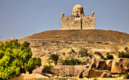 HDR Image Castle above the Nile Royalty Free Stock Photo
