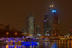 HDR image of the Moscow City Royalty Free Stock Photo