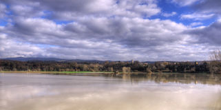 HDR Image Of The Flood Royalty Free Stock Photography