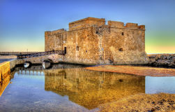 HDR image of Paphos Castle Royalty Free Stock Photos
