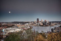 HDR image of Pittsburgh royalty free stock photos