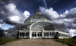 HDR image of Sefton Park Palm house Liverpool. England, Grade 2 listed building Royalty Free Stock Image