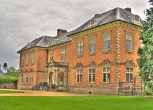 An HDR image of seventeenth century Tredegar Hous. An HDR image of seventeenth century stately home Tredegar House royalty free stock photo