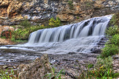 HDR image of Waterfall Stock Photos