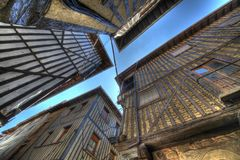 HDR images of La Alberca. Stock Photo