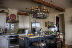 HDR of kitchen Royalty Free Stock Images