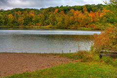 HDR of Lake Alice. Stock Images