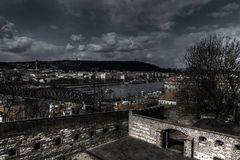 Free HDR Macabre Photo Of The Outdoor Theater At Vysehrad Park In Prague Stock Photo - 55930250