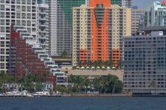 HDR Miami Florida Stock Photo