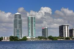 HDR Miami Florida Stock Image