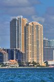 HDR Miami Florida Royalty Free Stock Photography