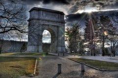 HDR - Monumento della forgia della valle Fotografia Stock Libera da Diritti