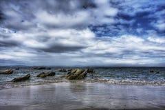 hdr morza kamień Zdjęcia Stock