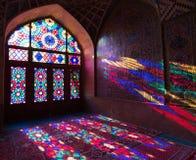 HDR Nasir al meczet w Shiraz, Iran Zdjęcie Royalty Free