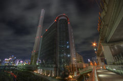 hdr noc krajobrazowa Tokio Obraz Stock