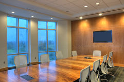 HDR Office Interior Royalty Free Stock Photography