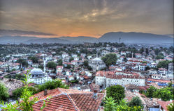 HDR of Old Houses of Safranbolu Stock Photography
