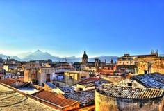 hdr Palermo widok Obrazy Stock