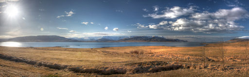 HDR panorama from Iceland Royalty Free Stock Photos