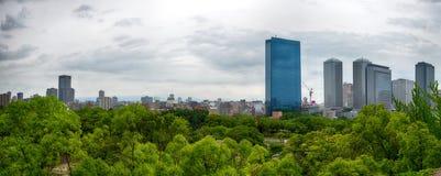 Osaka panorama stock images