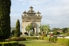 HDR Patuxay. In Vientiane, Lao  PDR Royalty Free Stock Image