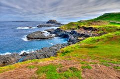 HDR of Phillip Island coastal area Stock Photo