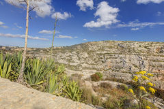 HDR photo of Blue Grotto area in Malta, Europe Royalty Free Stock Photo