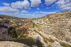 HDR photo of Blue Grotto area in Malta, Europe Stock Photos