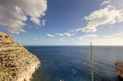 HDR photo of Blue Grotto area in Malta, Europe Royalty Free Stock Images