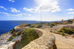 HDR photo of Blue Grotto area in Malta, Europe Stock Photo